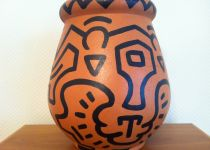 Keith Haring Vase
